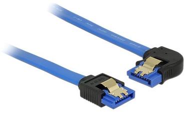 Delock Cable SATA to SATA Blue 0.5m