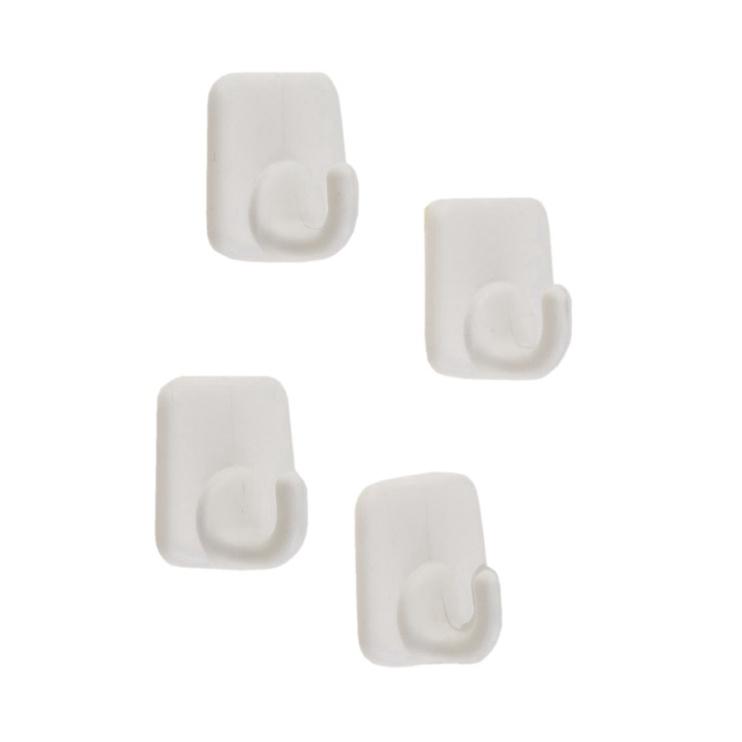 Plastikiniai kabliukai, 4 vnt.
