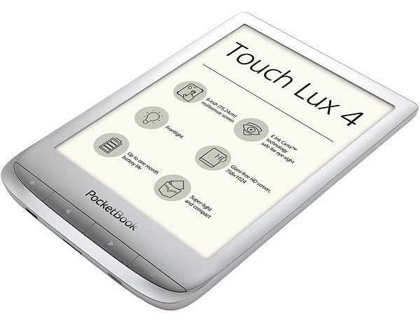 Elektroninė knygų skaityklė Pocketbook Touch Lux 4 Silver, 8 GB
