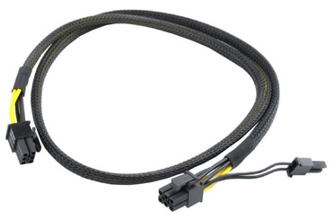 Gembird Cable PCI-Express 6pin to 6+2pin 0.8m