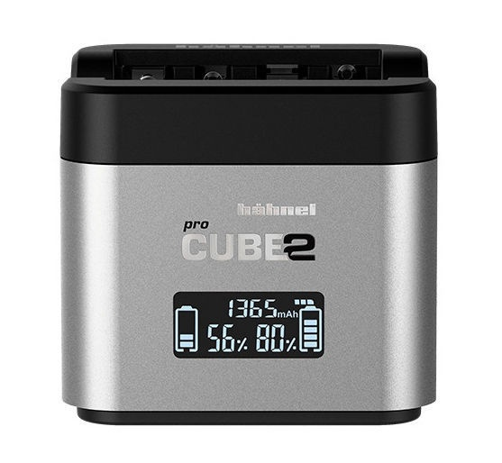 Hähnel ProCube 2 Charger For Canon Grey