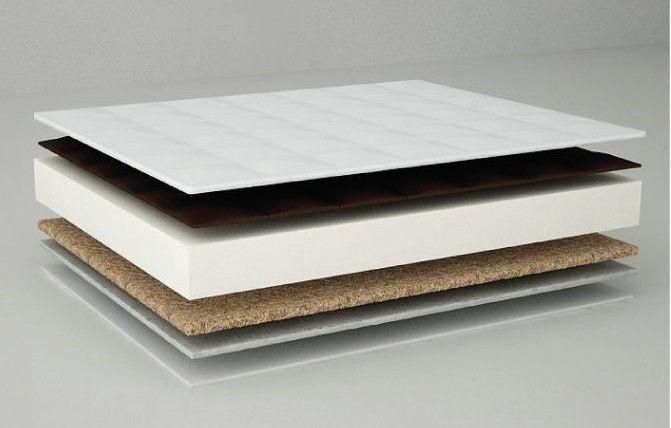 Matracis Danpol Coconut/Buchweat Shell Plus Antibacterial Silver, 120x60 cm