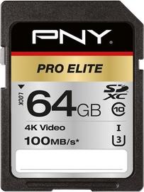 PNY PRO Elite 64GB SDXC UHS-I U3 Class 10
