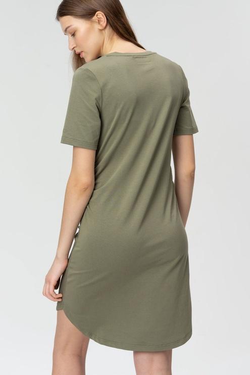 Audimas Soft Touch Modal Dress Deep Lichen Green XS