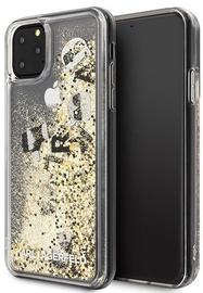 Karl Lagerfeld Glitter Back Case For Apple iPhone 11 Pro Max Black/Gold