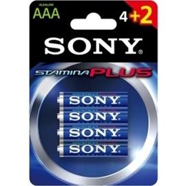 Sony LR03 Alkaline Batteries AAA  x6