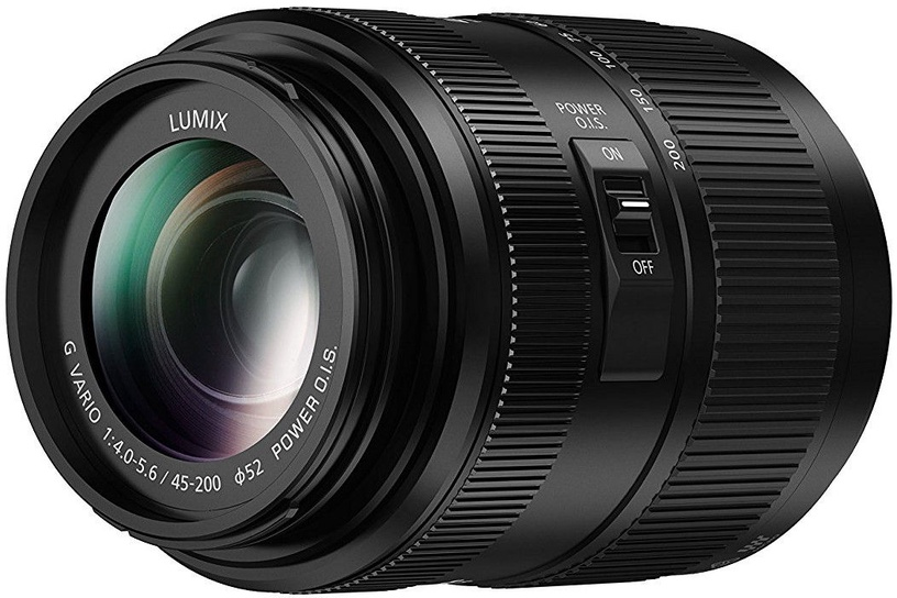 LUMIX G X Vario 45-200mm F/4.0-5.6 ASPH. POWER O.I.S. Black