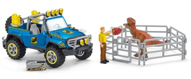 Schleich Dinosaurs Off Road Vehicle With Dino Outpost 41464