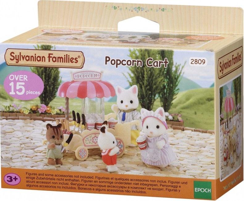 Žaislinė figūrėlė Epoch Sylvanian Families Popcorn Cart 2809