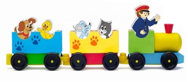Woody Train With Animals 90658