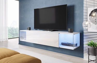 Cama Meble RTV Vigo 160 Sky TV Stand White/White Gloss