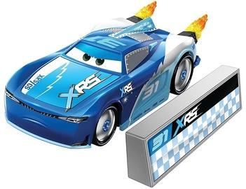 Mattel Disney Cars XRS Rocket Racing Cam Spinner With Blast Wall GKB93