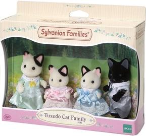 Epoch Sylvanian Families Tuxedo Cat Family 5181