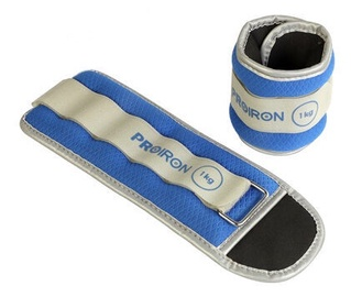 ProIron FZSD01 Ankle Weight Set Blue 2x1kg