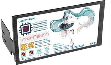 Аксессуары компонентов Lamptron HC060 PC Hardware Monitor, 340 г