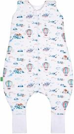 Детский спальный мешок Lulando Plane, белый, 110 см