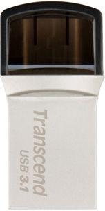 Transcend 64GB JetFlash 890 USB 3.1 Silver