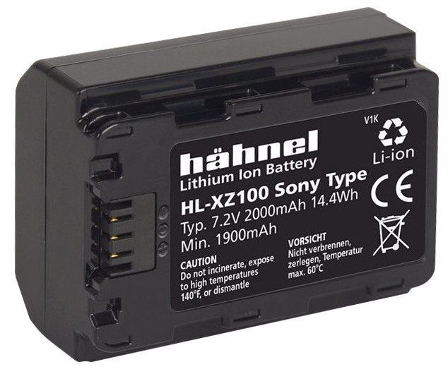 Hähnel HL-XZ100 Battery Sony