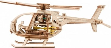 Wooden City 3D Puzzle Helicopter 173pcs
