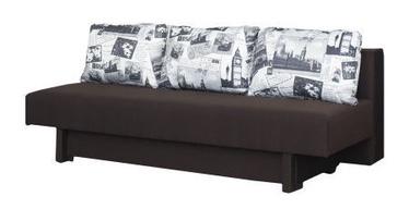 Dīvāns Bodzio Afrodyta Brown, 200 x 88 x 71 cm