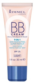 Rimmel London 9-in-1 Skin Perfecting Super Makeup BB Cream 30ml Light
