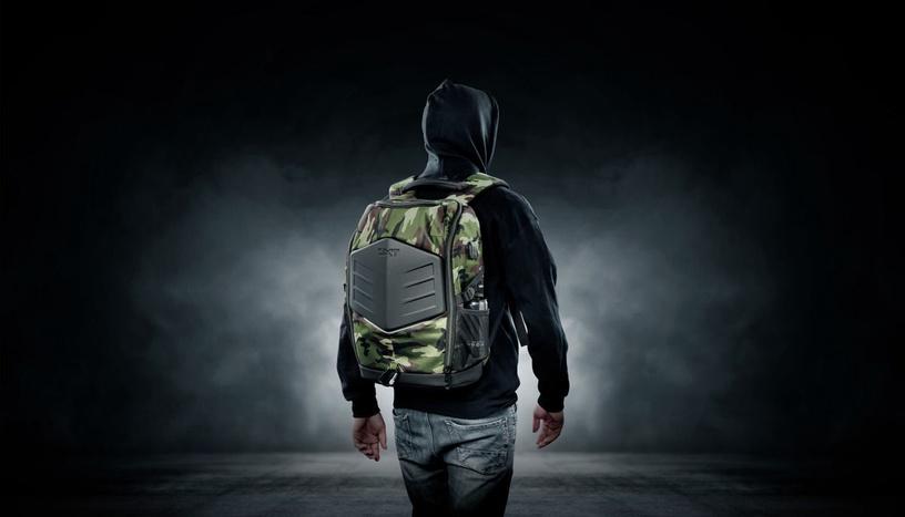 "Рюкзак Trust GXT 1255 Outlaw 15.6"", зеленый, 15.6″"