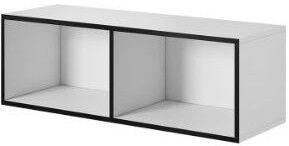 Cama Meble Roco RO2 112cm Storage Cabinet White/Black