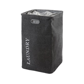 Aquanova Evora Laundry Bin 112l Dark Grey