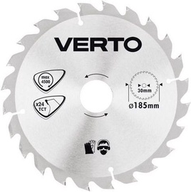 Verto Circular Saw Blade 185x30mm 24T