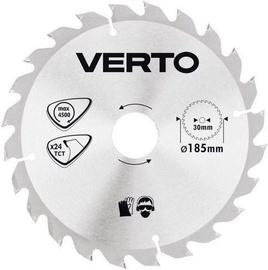 Verto Circular Saw Blade 185x30mm 24T