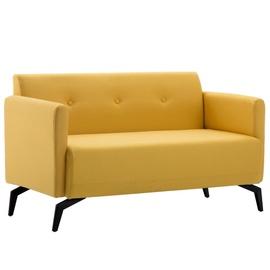 Диван VLX 2-Seater 247181, желтый, 60 x 115 x 67 см