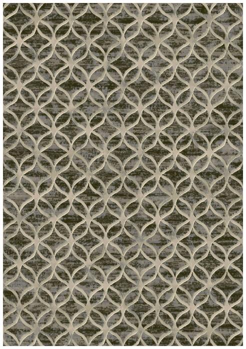 Ковер Domoletti Argentum 063-0396 8393, коричневый, 290 см x 200 см