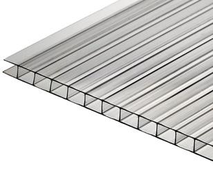 Polikarbonato plokštė, 1 x 200 x 105 cm