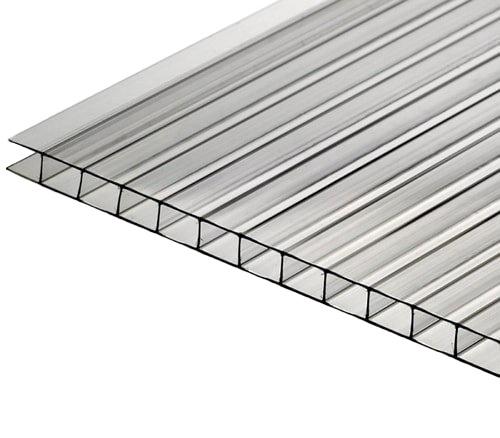 Лист поликарбоната SN Polycarbonate Sheet 1050x10x2000mm Transparent