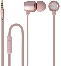 Ausinės Forever MSE-200 In-Ear Earphones Rose Gold