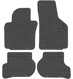 Резиновый автомобильный коврик Frogum Skoda Octavia / Yeti / Seat Leon / Toledo / VW Golf V / Jetta, 4 шт.