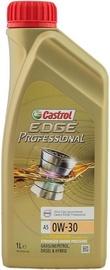 Машинное масло Castrol Edge Professional 0W - 30, синтетический, для легкового автомобиля, 1 л