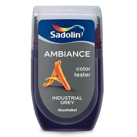 Krāsu paraugs AMBIANCE INDUSTRIAL GREY 30ML