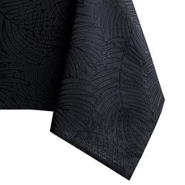 Скатерть AmeliaHome Gaia, черный, 1400 мм x 4000 мм