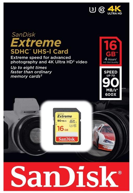 Mälukaart SanDisk SDSDXNE-016G-GNCIN, 16 GB
