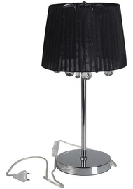 Verners Dilema Desk Lamp 2x60W E27 Black/Chrom