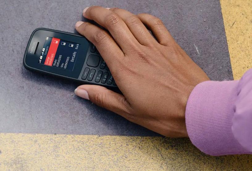 Mobilusis telefonas Nokia 105 2019 Dual Black