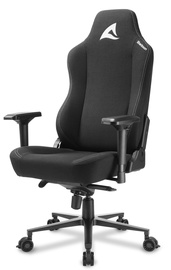 Spēļu krēsls Sharkoon Skiller SGS40 Fabric, melna