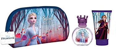 Disney Frozen II 50ml EDT + 100ml Shower Gel + Cosmetic Bag
