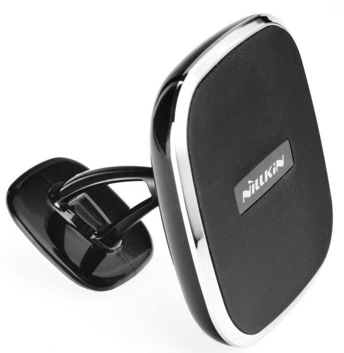 Telefona turētājs Nillkin Magnetic Car Holder With Wireless Charger Black