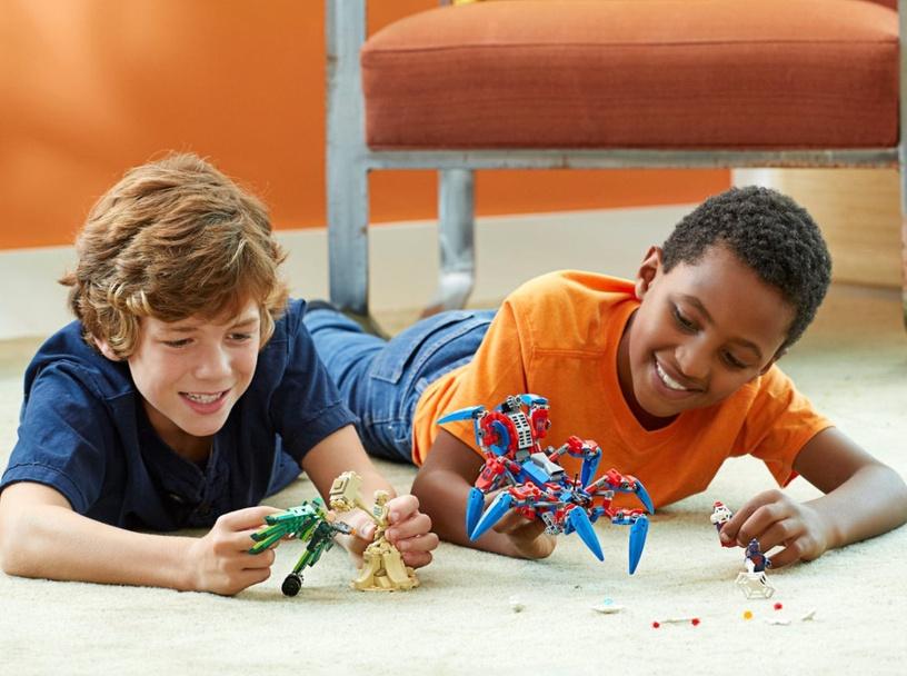 Конструктор LEGO Super Heroes Spider-Man Spider Crawler 76114 76114, 418 шт.