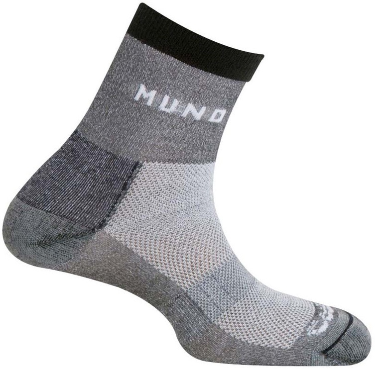 Носки Mund Socks Cross Mountain Grey, 42-45, 1 шт.