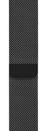 Apple 44mm Watch Band Space Black Milanese Loop