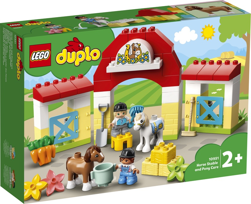 Constructor LEGO Duplo Horse Stable And Pony Care 10951