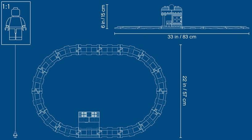 Konstruktorius LEGO® Town 10874 Garvežys